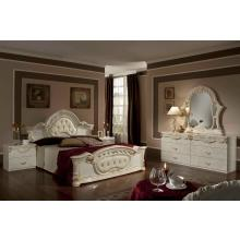 Modrest Rococco - Italian Classic Beige Bedroom Set