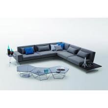 Florence - Modern Fabric Sectional Sofa