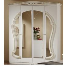 Modrest Rococco - Italian Classic Beige Bedroom 4-Door Wardrobe