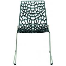 Groove - Modern Grey Italian Dining Chair