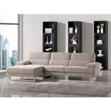 Divani Casa Como - Modern Fabric Sectional Sofa