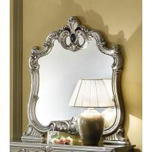 Barocco - Traditional Silver Accent Mirror