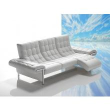 Dima Ivan Full Leather Sofa with Chaise - Made in Italy