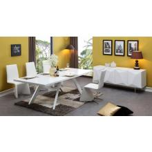 Modrest Vanguard - Modern White Dining Table