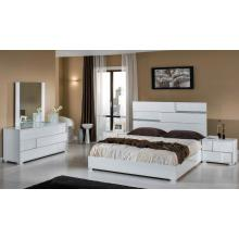 Modrest Kyoto Italian Modern White Bedroom Set