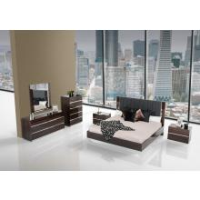 Modrest Luxor - Italian Modern Ebony Lacquer Bedroom Set