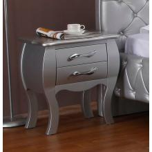 Modrest Monte Carlo - Transitional Platinum Nightstand