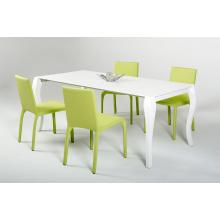 Modrest Soprano - Modern White Dining Extendable Table