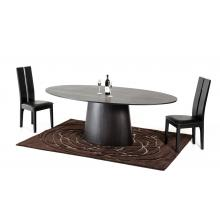 Modrest Stepford Modern Wenge Oval Dining Table