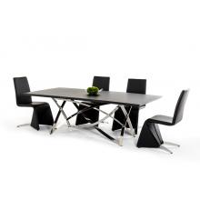 Modrest Labyrinth Modern Wenge Dining Table