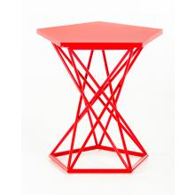 Modrest Trace Modern Red End Table