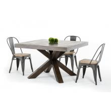 Modrest Urban Concrete Square Dining Table