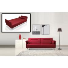 Divani Casa 1365 - Modern Red Fabric Single Sofa