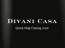 Divani Casa Quick Ship 2016 Collection