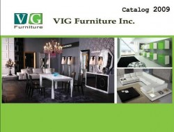 VIG FURNITURE CATLOG 2009
