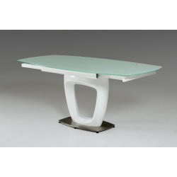Modrest 2609XT-23 Modern White Extendable Dining Table