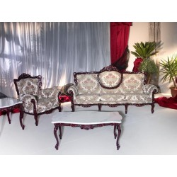 Ice Lame 701 traditional sofa set