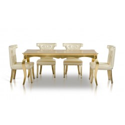 A&X Imperial - Transitional Golden Table