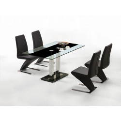 T011 Saturn Contemporary Glass table