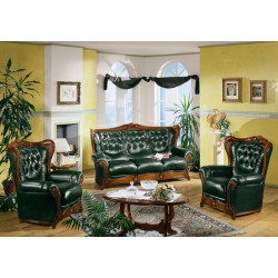Amalfi Traditional Italian Sofa Set