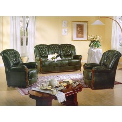 Pisa Traditional Italian Sofa Set