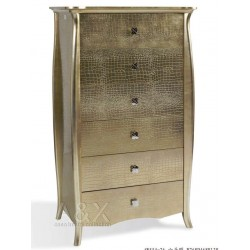 A&X Imperial - Gold 6 Drawers Chest