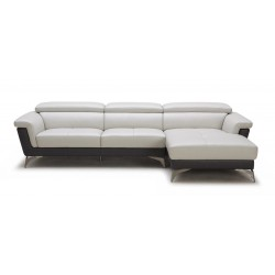 Divani Casa Holly - Modern Leather Sectional Sofa