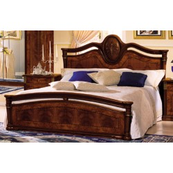 Klassica Italian Queen Lacquer Bed Made in Italy