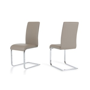 Crane - Modern Grey Dining Chair (Set of 2)
