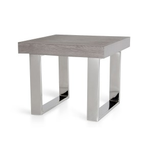 Modrest Lola Modern Grey End Table