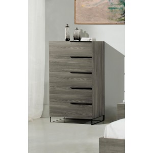 Nova Domus Enzo Italian Modern Grey Oak Chest