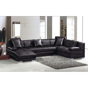 Divani Casa 3334 - Modern Leather Sectional Sofa