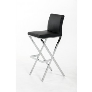 Dean - Modern Black Bar Stool (Set of 2)