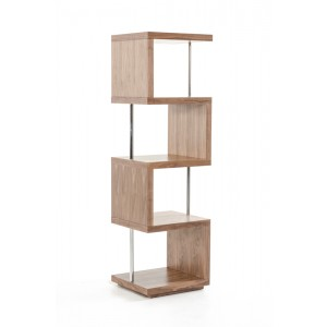 Modrest Stage 2 Modern Walnut Wall Unit