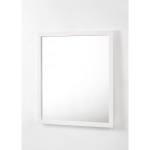 Modrest Bryan - Modern White Mirror