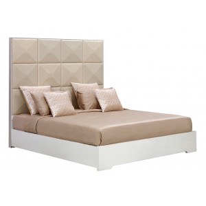 Temptation Ariel High Headboard Modern Bed