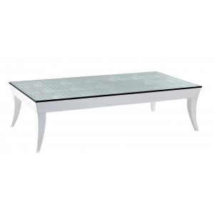 Temptation Othello Modern Glass Coffee Table
