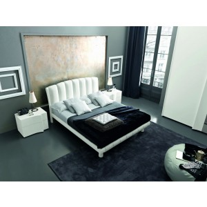 Armonia - Modern Italian Bed In Eco-Leather