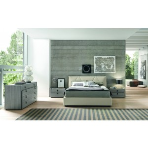 SMA Esprit - Modern Eco-Leather Bed