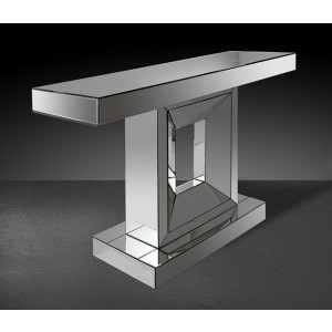 Modrest Milton - Modern Mirrored Console Table