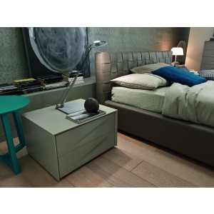 SMA Genesis - Modern 2 Drawer Nightstand