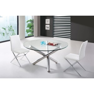 Modrest Frau - Modern Round Dining Table