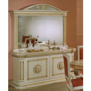 Modrest Rossella - Italian Classic Beige And Gold Buffet