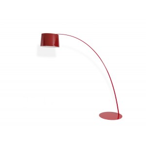 Modrest 7023 Modern Red Floor Lamp