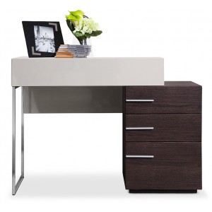 Modrest Daytona Modern Brown Oak Vanity Dresser