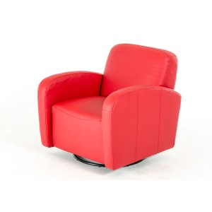 Divani Casa A-855 Modern Red Eco-Leather Lounge Chair
