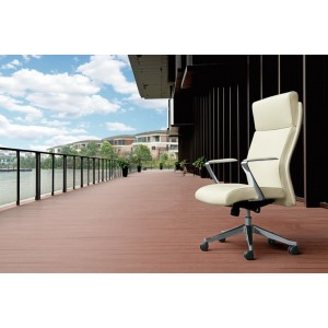 Modrest Iger Modern White High-Back Office Chair