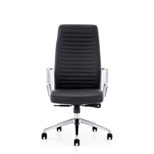 Modrest Barra Modern Black High-Back Office Chair
