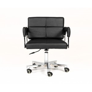 Modrest Craig Modern Black Bonded Leather Office Chair
