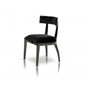 Alek - Modern Black Dining Chair (Set of 2)
